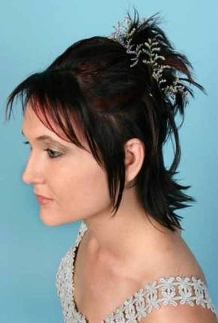 Bridal Short Hairstyles Pictures-12