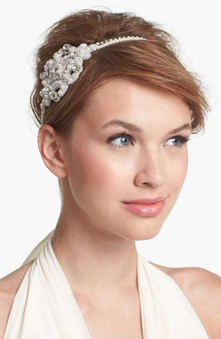 Bridal Short Hairstyles Pictures-6