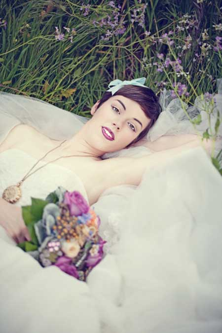 Bridal Short Hairstyles Pictures-8
