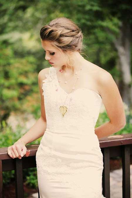 Bridal styles for short hair