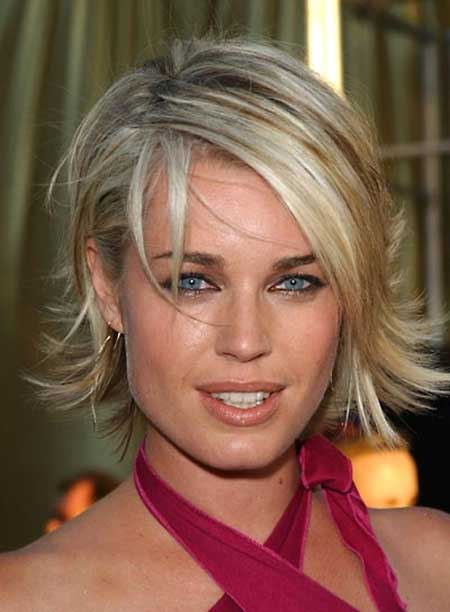 Celebrity Short Hairstyles-Rebecca Romijn