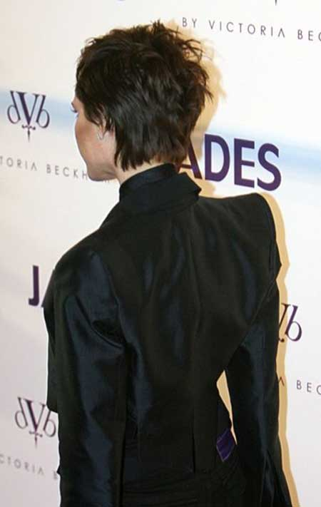 Victoria Beckham Short Hair - The UnderCut