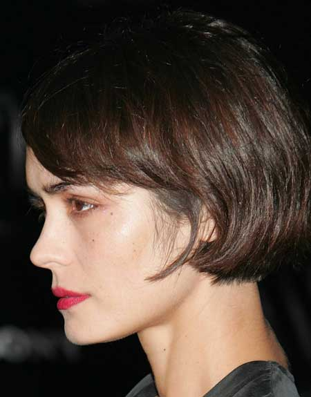 Celebrity short trendy hairstyles