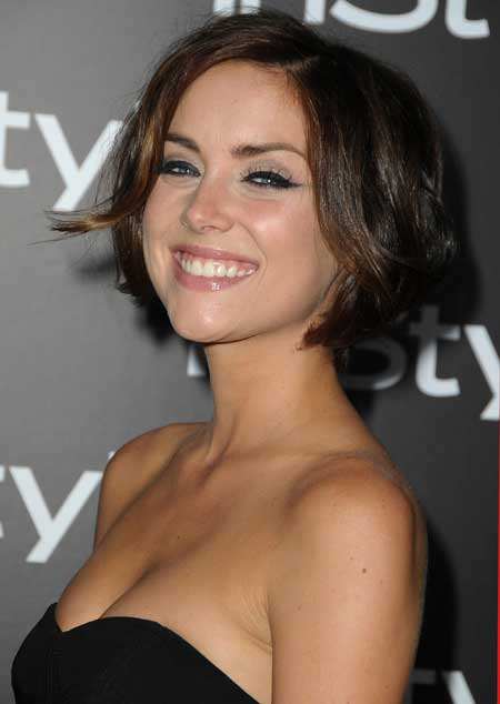 Cute short celebrity hairstyles
