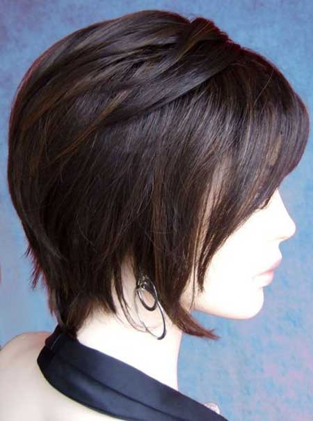 Best Short Straight Hairstyles Short Hairstyles 2016