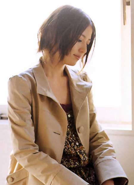 Messy Short Hairstyles for Women-10