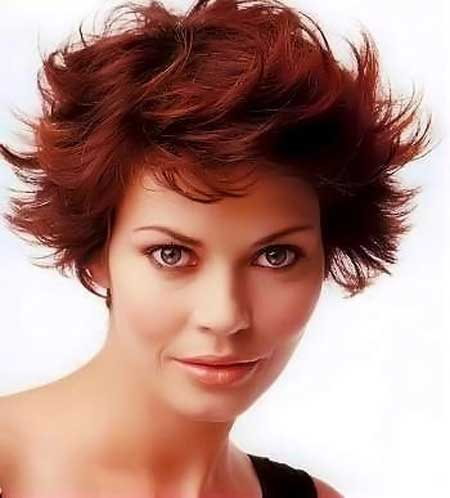 Messy Short Hairstyles for Women-11