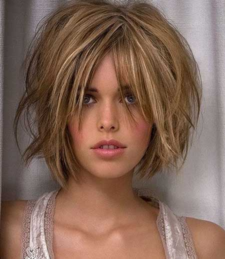 Messy Short Hairstyles for Women-13