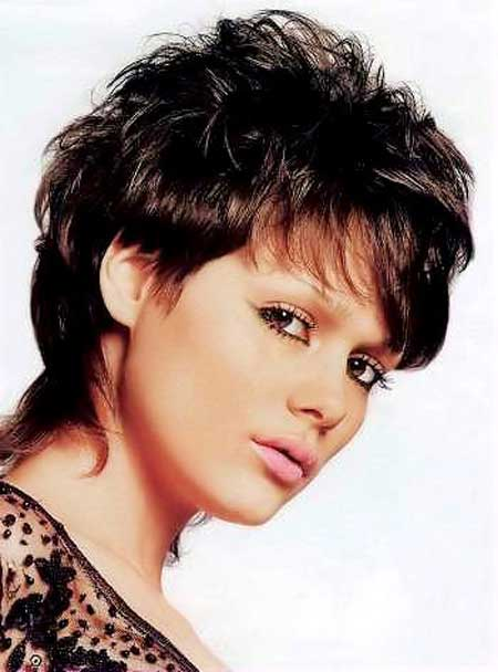 Messy Short Hairstyles for Women-2