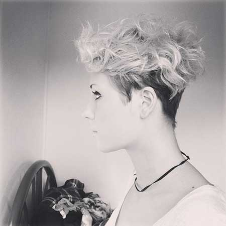 Messy Short Hairstyles for Women-3