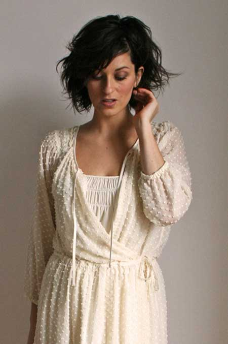 Messy Short Hairstyles for Women-4