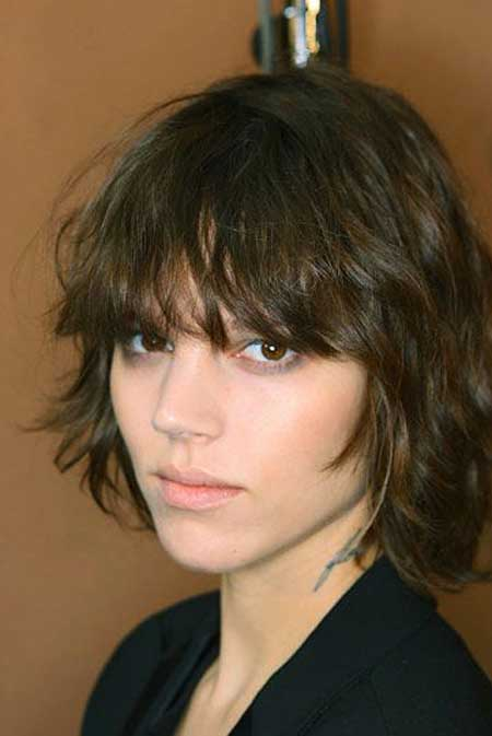 Messy Short Hairstyles for Women-8