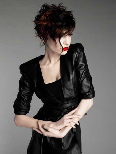 Messy Short Hairstyles for Women-9