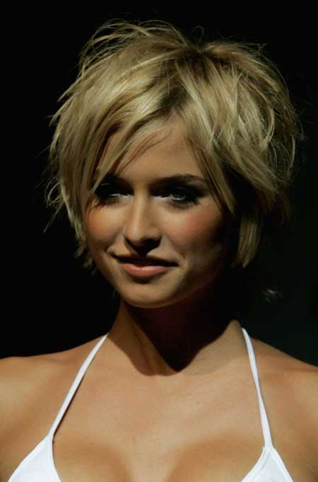 Messy blonde bob hairstyles