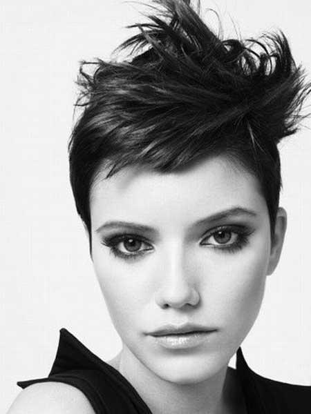 Messy short haircuts 2013