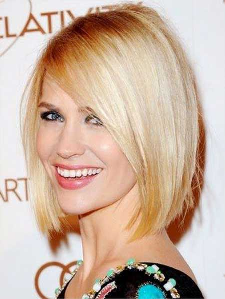 New Short Celebrity Haircuts-January Jones