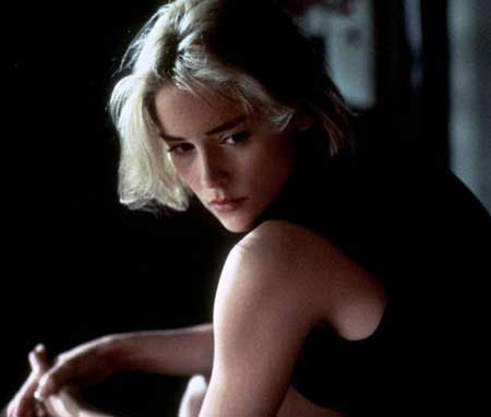 New Short Celebrity Haircuts-Sharon Stone