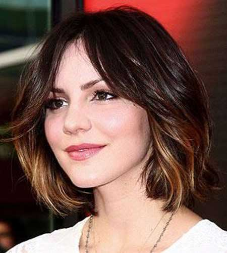 Ombre hair color for short hair