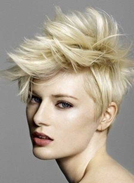 Pictures of Blonde Short Hairstyles-12