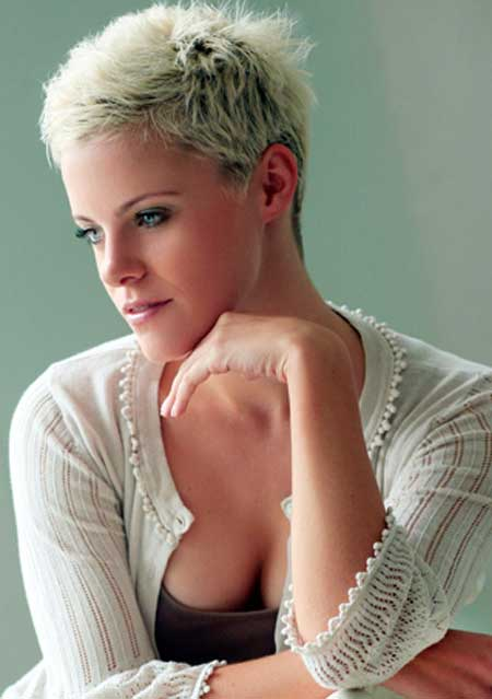 Pictures of Blonde Short Hairstyles-3