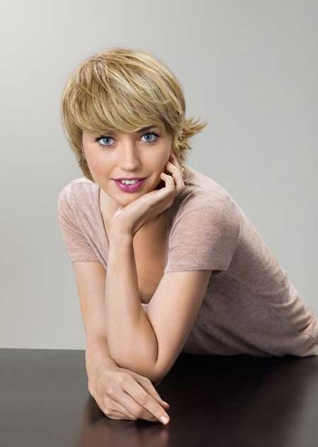 Pictures of Blonde Short Hairstyles-7