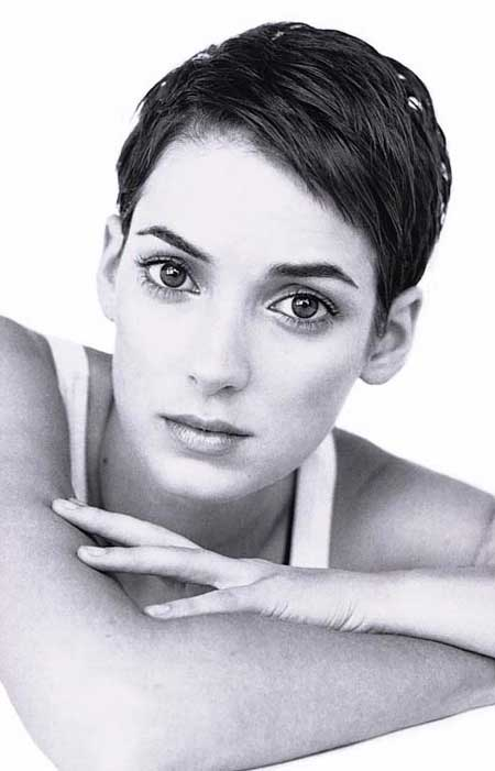 Pixie cut with thick hair