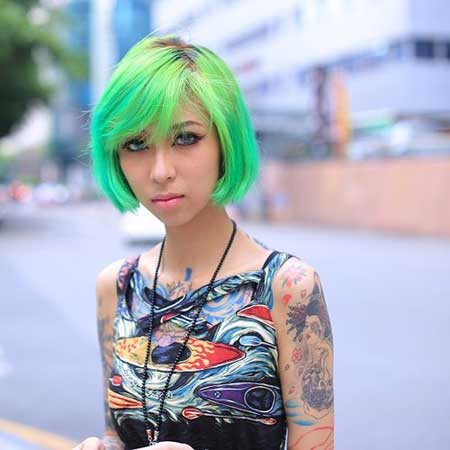 Short Haircut and Color Ideas-7