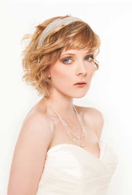Short Haircuts for Brides-1