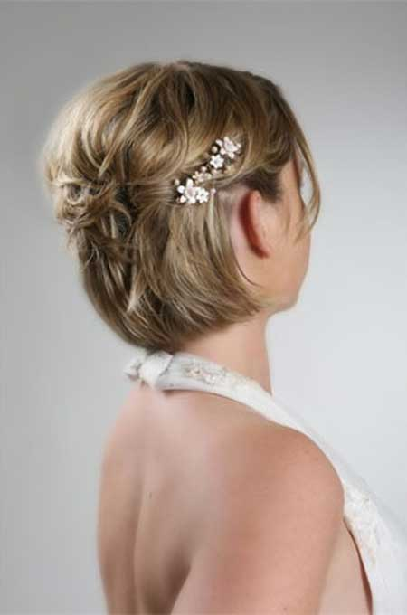 Short Haircuts for Brides-2