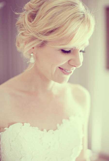 Short Haircuts for Brides-4