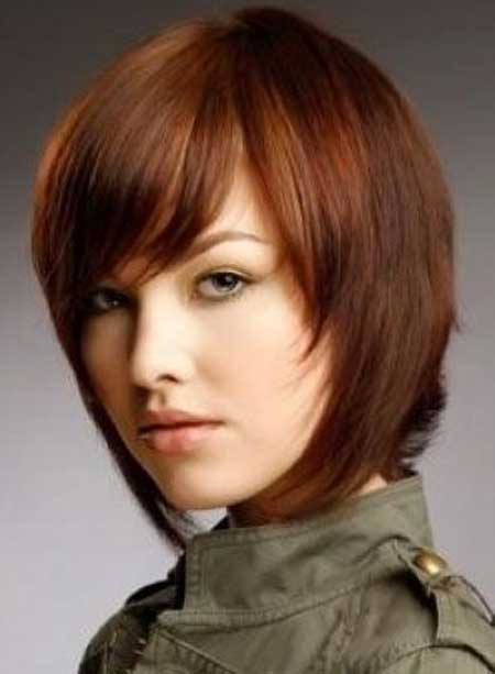 Short Straight Hairstyles 2013-1