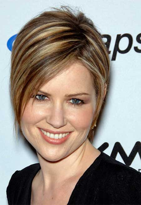 Short Straight Hairstyles 2013-12