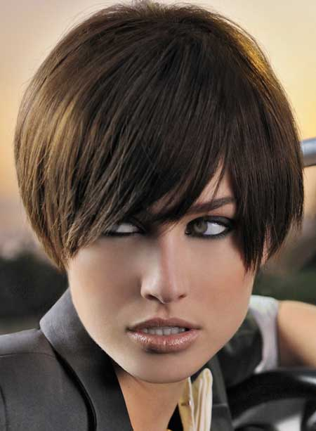 Short Straight Hairstyles 2013-13