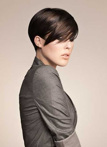 Short Straight Hairstyles 2013 4