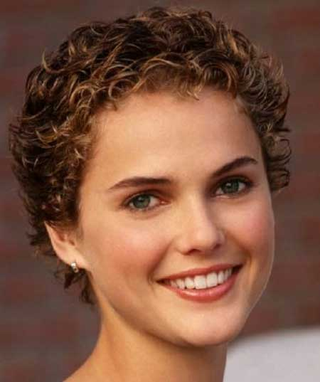 Astounding Short Trendy Curly Haircuts Short Hairstyles 2016 2017 Most Hairstyles For Women Draintrainus