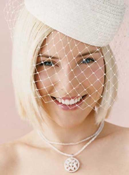 Short Wedding Hairstyles for 2013-3