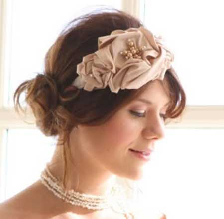 Short Wedding Hairstyles for 2013-4