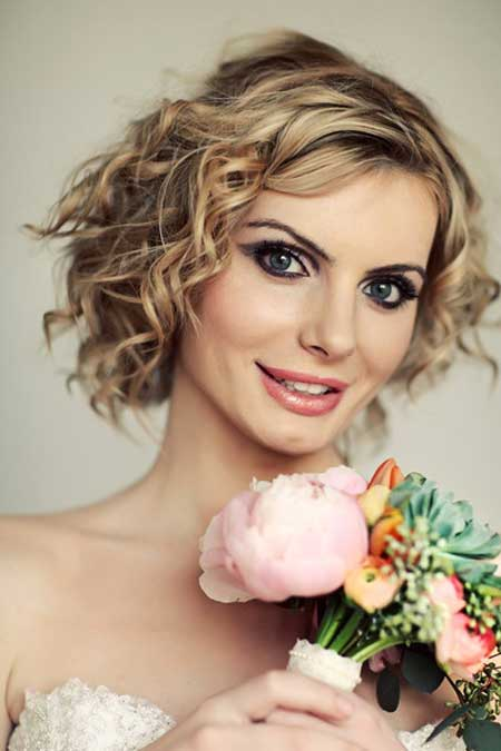 Bridal Short Hairstyles Pictures