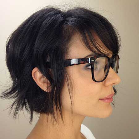 Short Hairstyles For Thick Hair Mesmerizing Google Image Result For Httpwwwshorthaircutwpcontent