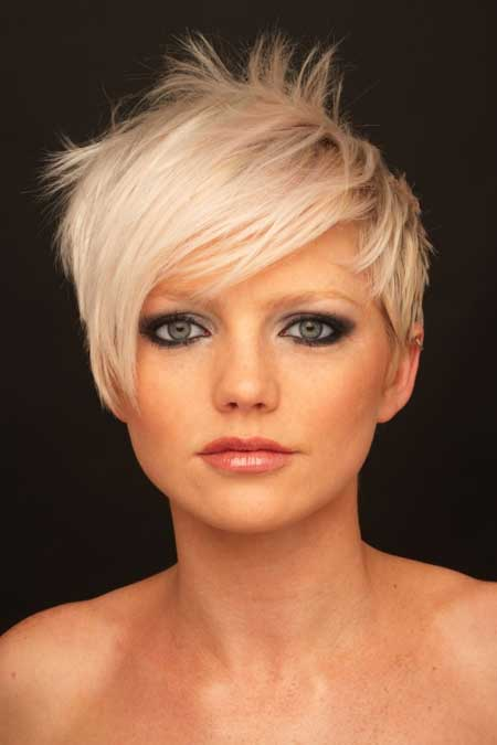 How To Style Super Short Blond Hair