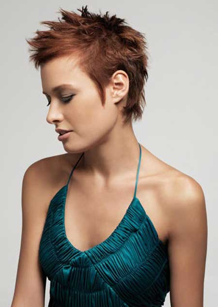 Trendy Short Haircuts for Women 8