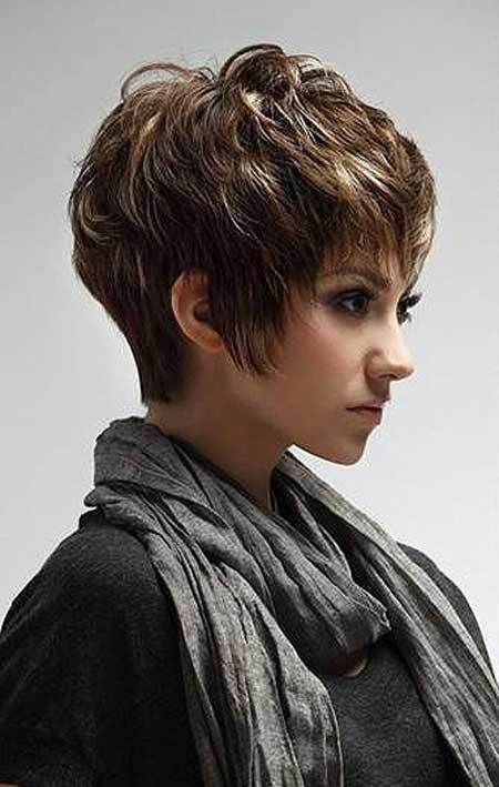 Trendy short layer hairsyles 2013