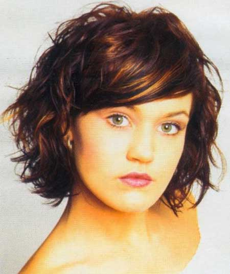 Trendy short wavy haircuts 2013