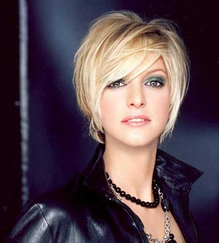 2013 Short Blonde Hairstyles-5