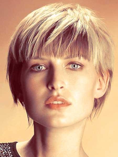 Amazingly Short Edgy Hairstyle