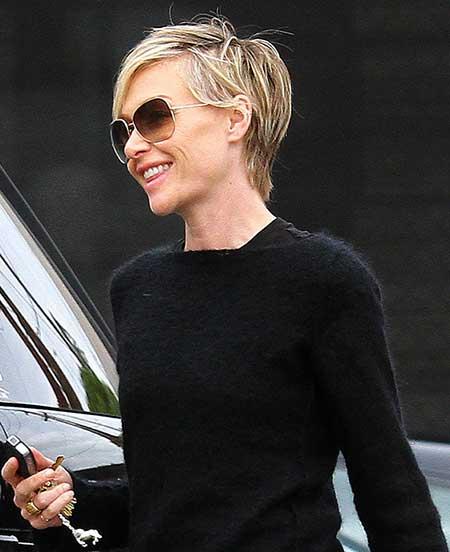 Portia De Rossi 2013 Hair Pics of Trendy Short H...