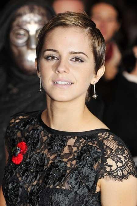 Emma Watson very short hair
