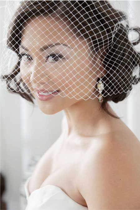 Latest Short Bridal Hairstyle
