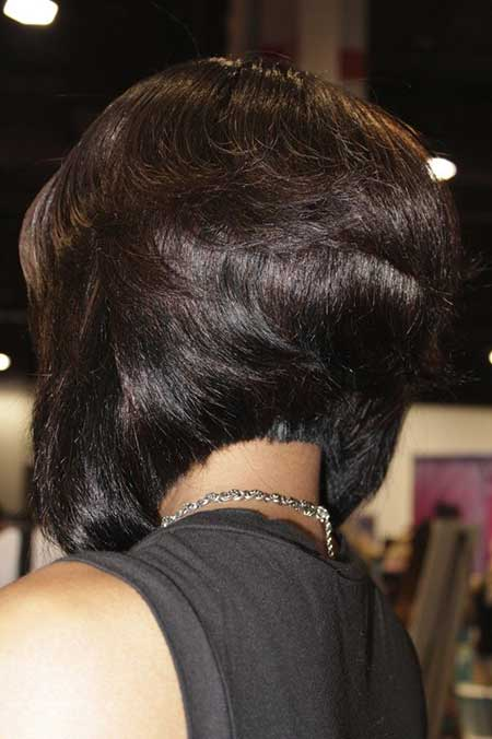 Lovely Bob Hairstyle for Black Hair
