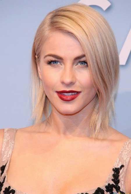 Lovely Golden Short Hair